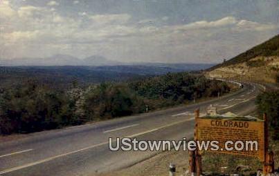 Raton Pass, Colorado     ;     Raton Pass, CO Postcard