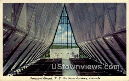 Air Force Academy - Colorado Springs Postcards, Colorado CO Postcard