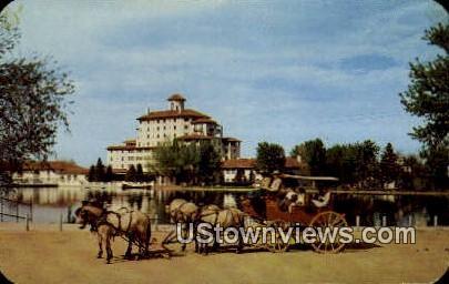 Old Stagecoach, Broadmoor - Colorado Springs Postcards, Colorado CO Postcard