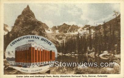 Cosmopolitan Hotel - Denver, Colorado CO Postcard