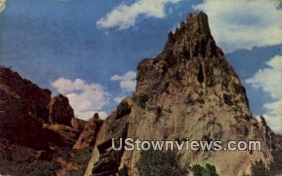 Cathedral Rock - Garden of the Gods, Colorado CO Postcard