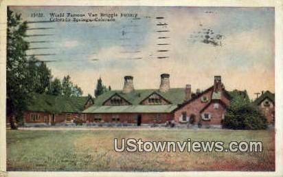Van Briggle Pottery - Colorado Springs Postcards, Colorado CO Postcard