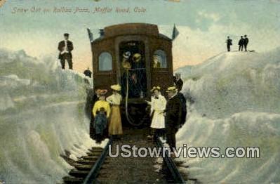 Rollins Pass - Moffat Road, Colorado CO Postcard