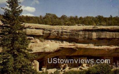 Spruce Tree Ruin - Mesa Verde National Park, Colorado CO Postcard