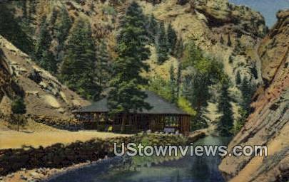Seven Falls - Colorado Springs Postcards, Colorado CO Postcard