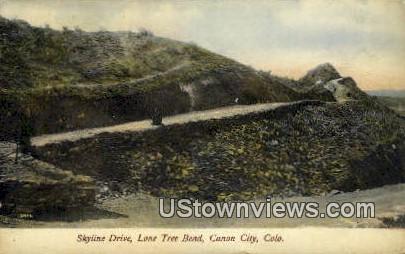 Lone Tree Bend - Canon City, Colorado CO Postcard