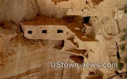 Square Tower Ruin - Mesa Verde National Park, Colorado CO Postcard