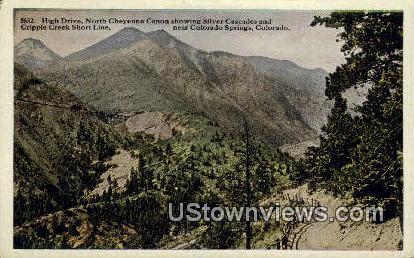 Cripple Creek Short Line - Colorado Springs Postcards, Colorado CO Postcard
