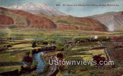 Mt. Sopris, Roaring Fork Valley - Misc, Colorado CO Postcard