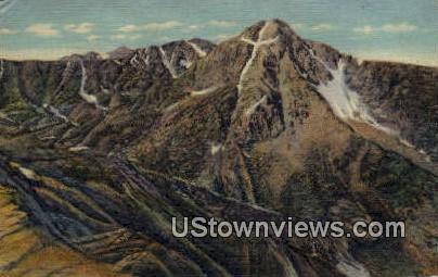 Mountain of Holy Cross - Misc, Colorado CO Postcard