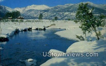 Big Thompson River - Misc, Colorado CO Postcard
