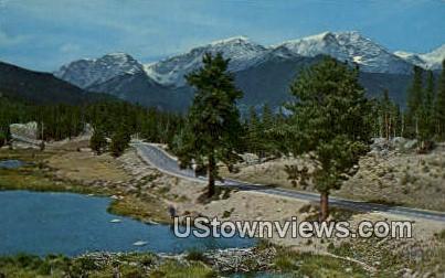 Mummy Range, Beaver Ponds - Misc, Colorado CO Postcard