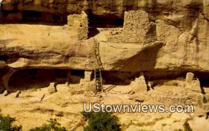 New Fires House - Mesa Verde National Park, Colorado CO Postcard