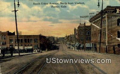 South Union Ave. - Pueblo, Colorado CO Postcard