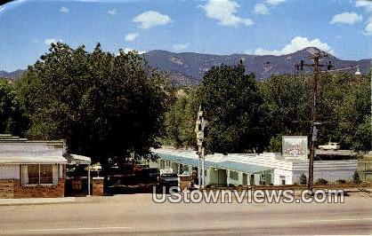 Sleepy Hollow Motel - Colorado Springs Postcards, Colorado CO Postcard