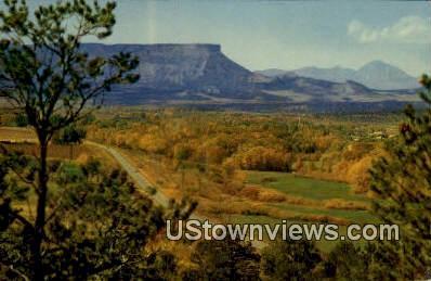 Mancos Valley - Mesa Verde National Park, Colorado CO Postcard