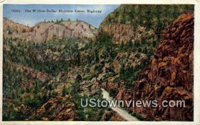 Million Dollar Phanton Canon - Misc, Colorado CO Postcard