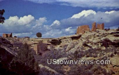Square Tower Group - Hovenweep National Monument, Colorado CO Postcard