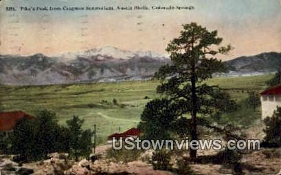 Cragmor Sanatorium - Colorado Springs Postcards, Colorado CO Postcard