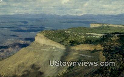 Park Point Lookout - Mesa Verde National Park, Colorado CO Postcard