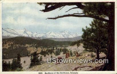 Misc, Colorado     ;     Misc, CO Postcard