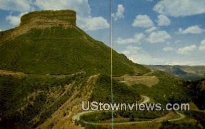 Point Lookout - Mesa Verde National Park, Colorado CO Postcard