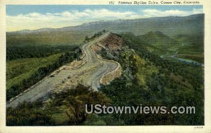 Canon City, CO     ;     Canon City, Colorado Postcard