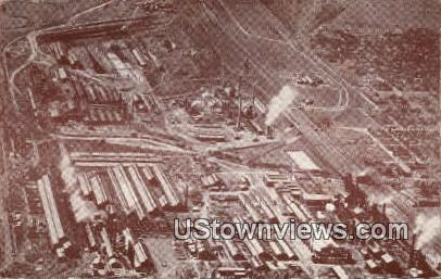 Pueblo Steel Mills - Colorado CO Postcard