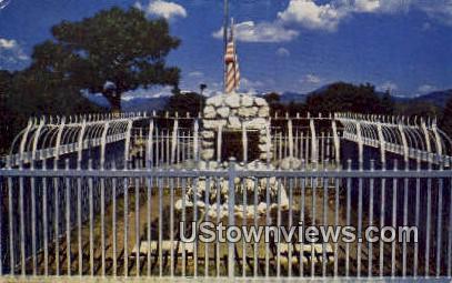 Buffalo Bill Cody's Grave - Denver, Colorado CO Postcard