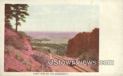 Point Sublime - Colorado Springs Postcards, Colorado CO Postcard