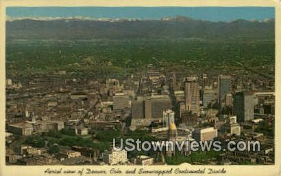 Continental Divide - Denver, Colorado CO Postcard