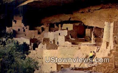 Cliff Palace Ruin - Mesa Verde National Park, Colorado CO Postcard