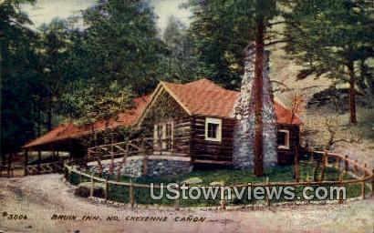 Bruin Inn - Cheyenne Canon, Colorado CO Postcard