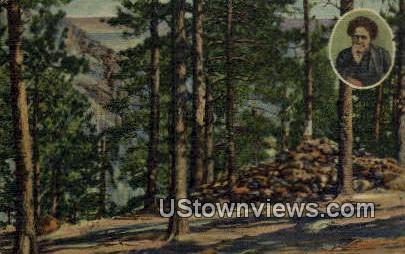 Helen Hunt's Grave - Colorado Springs Postcards, Colorado CO Postcard