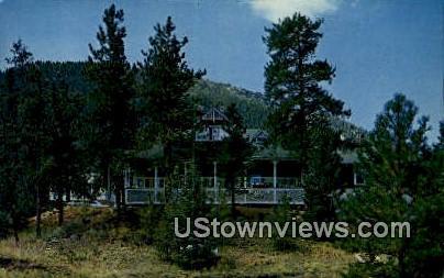 Outlook Lodge - Colorado Springs Postcards, Colorado CO Postcard