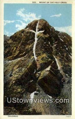 Mount of the Holy Cross - Misc, Colorado CO Postcard