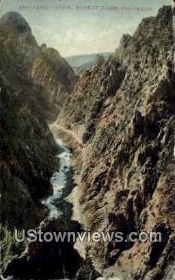 Core Canon - Moffat Road, Colorado CO Postcard