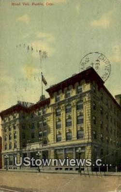 Hotel Vail - Pueblo, Colorado CO Postcard