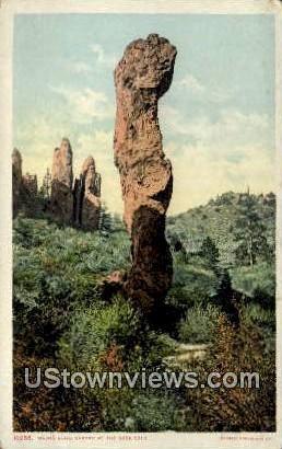 Major Domo - Garden of the Gods, Colorado CO Postcard