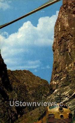 Royal Gorge - Canon City, Colorado CO Postcard