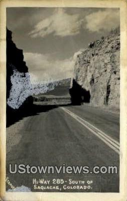 Saguache, Colorado     ;     Saguache, CO Postcard