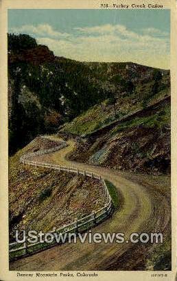 Denver Mountain Parks, Colorado     ;     Denver Mountain Parks, CO Postcard