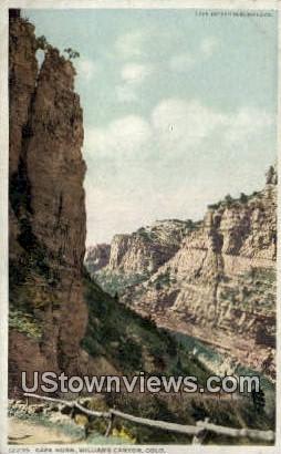 Cape Horn - Williams Canon, Colorado CO Postcard