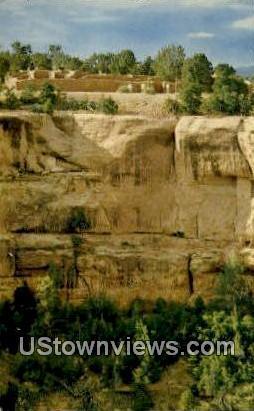 Sun Temple - Mesa Verde National Park, Colorado CO Postcard