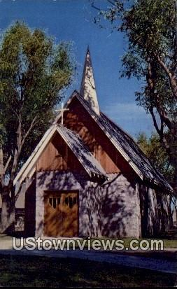 Kit Carson Chapel - Fort Lyon, Colorado CO Postcard