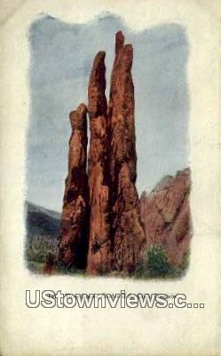 The Graces - Garden of the Gods, Colorado CO Postcard