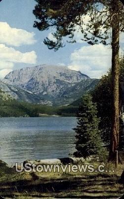 Baldy, Mt. Craig, Grand Lake - Rocky Mountain National Park, Colorado CO Postcard