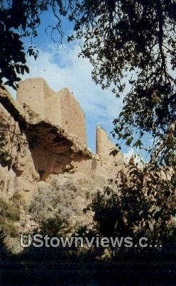 Hovenweep Castle - Hovenweep National Monument, Colorado CO Postcard