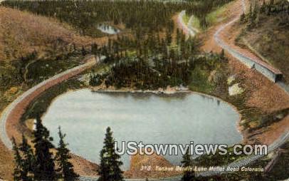Tankee Doodle Lake - Moffat Road, Colorado CO Postcard