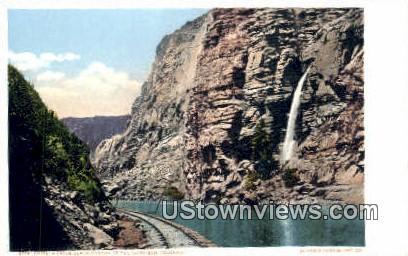 Chipeta Falls - Black Canyon, Colorado CO Postcard